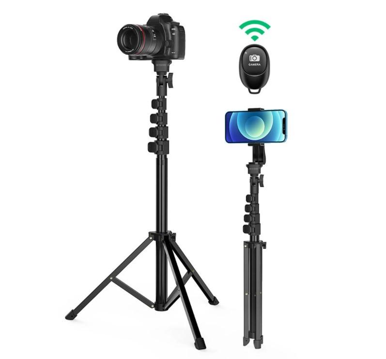 חצובה גדולה מוט סלפי כולל שלט למצלמה טלפון רינג של בליצוולף BlitzWolf דגם BW-STB1